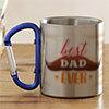 Best Dad Ever Personalized Steel Mug