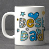 Best Dad Ever Personalized White Mug