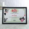 Best Mama Personalized Certificate