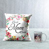 Best Mom Ever Personalized Cushion and Mug Combo