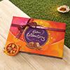 Bhaidooj Tikka with Celebrations Chocolate pack