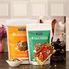 Bhaidooj Tikka with Packs of Keeros Health Snacks