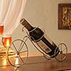 Bicycle Shaped Metal Bottle Holder