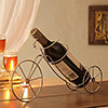 Bicycle Shaped Metal Bottle Holder