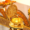 Big Asht Ganesha Brass Diya