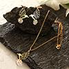 Birdy Cz Necklace Set