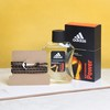 Black Anchor Bracelet with Adidas Perfume Hamper