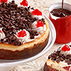 Black Forest Cheesecake - 600 gms