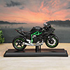 Black & Green Special Edition Motor Bike