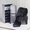Black & Grey Tie and Jovan EDT Cologne Black Musk