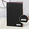 Black Personalized Diary with Bookmark