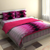 Bold Pink Zigzag Bed Set