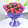 Bouquet of 20 Pink Carnations