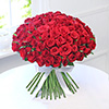 Bouquet of Lovely 100 Red Roses