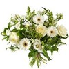 Bouquet of Mixed White Flowers