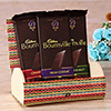 Bournville Chocolate Bars in a Bamboo Box ( 3Pcs)