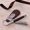 Brown Keychain & Pen Hamper