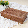 Brown Wooden Jewelry Box