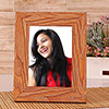 Brown Wooden Personalized Photo Frame