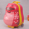 Bumpy Cartoon Themed Kids Trolley School Bag