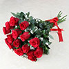 Bunch of 20 Fresh Red Roses