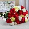 Bunch of 25 Assorted Carnations