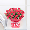 Bunch of 25 Red Carnations