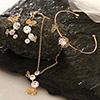 Butterfly Necklace Set with Bracelet