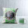 Cartouche Personalized Birthday Cushion & Mug
