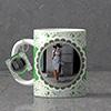 Cartouche Personalized Birthday Keychain & Mug Combo
