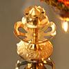 Carved Agarbatti Stand in Brass