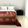 Charming Double Bed Quilt in Gray