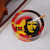 Che Guevara Theme Glass Ashtray