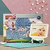 Childcare Gift Set with a Photo Frame