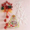 Christmas Wall Hanging with Snow String Set & Tree Shaped Wall Sticker