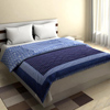 Classic Double Bed Quilt in Indigo
