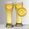 Cold Beer Glass Set of Two