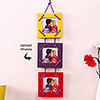 Colorful 3-in-1 Square Personalized Hanging Photo Frame