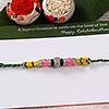 Colorful Stone Studded Rakhi