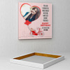 Conquer the World Personalized Birthday Canvas