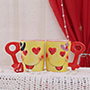 Crazy in Love Themed Mug Set of 2
