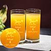 Creative Juice Glass Set of 2