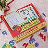 Crimson Alphabet Game cum Writing Board