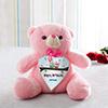 Cute Birthday Personalized Pink Teddy