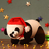 Cute Black and White Panda Soft Toy