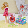 Cute Doll with Play Set in Gift Box