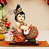 Cute Lord Krishna with Matki Idol