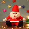 Cute Red Santa Teddy