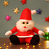 Cute Red Santa Teddy