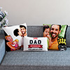 Dad is the King Personalized Cushion Set